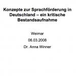2008_Anna-Winner_Konzepte_zur_Sprachfoerderung_in_Deutschland