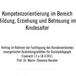 2011_Maria_Eleonora_Karsten_Kompetenzorientierung_im_Bereich_Bildung_Erziehung_und_Betreuung_im_Kindesalter