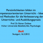 2012_Rainer_Dollase_Persoenlichkeiten_bilden_im_kompetenzorientierten_Unterricht