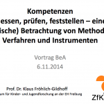 2014_Klaus_Froehlich_Gildhoff_Kompetenzen_messen_pruefen_feststellen_Methoden_Verfahren_Instrumente
